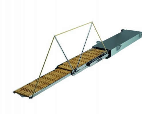 Swissway - retractable gangway Marco Polo