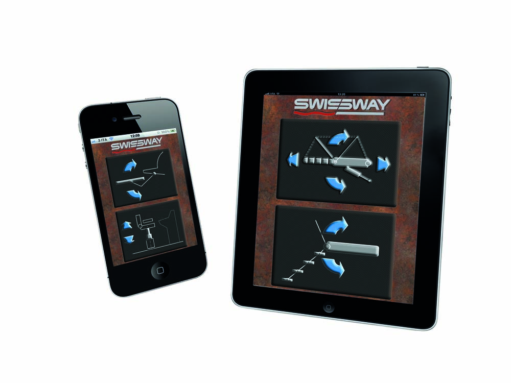 Swissway remote control iPad and iPhone