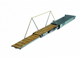 Swissway retractable gangway Marco Polo