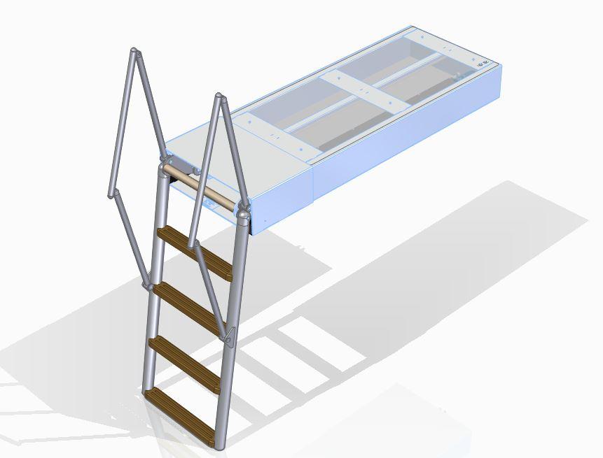 Bathing ladder Columba