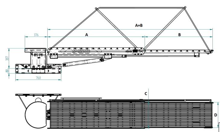 external rotating gangway Paradiso