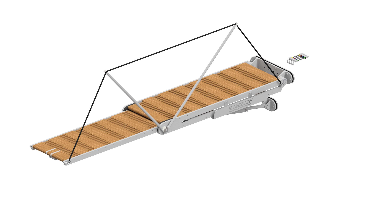 Swissway external gangway Rialto