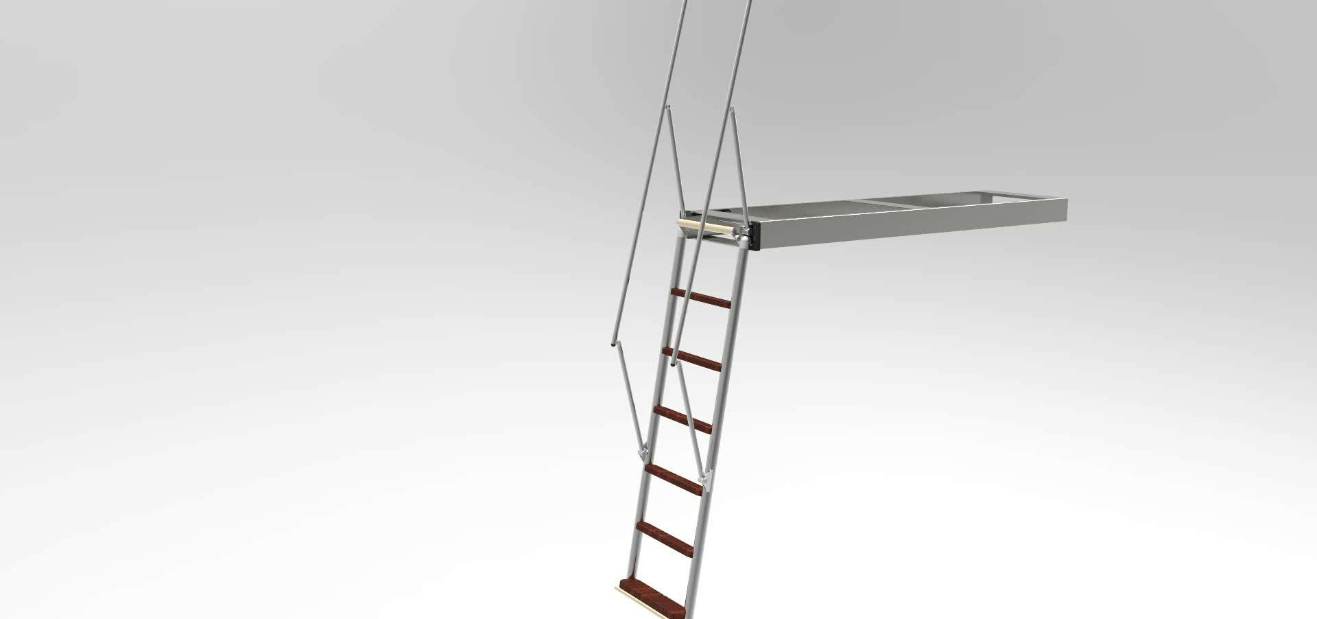 Swissway Luxury bathing ladder Carina Railing Fix