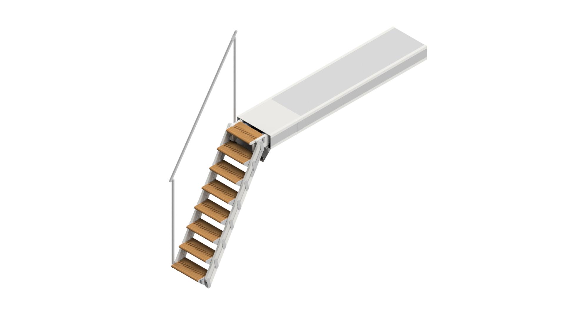 Swissway boarding ladder Golden Gate Fix