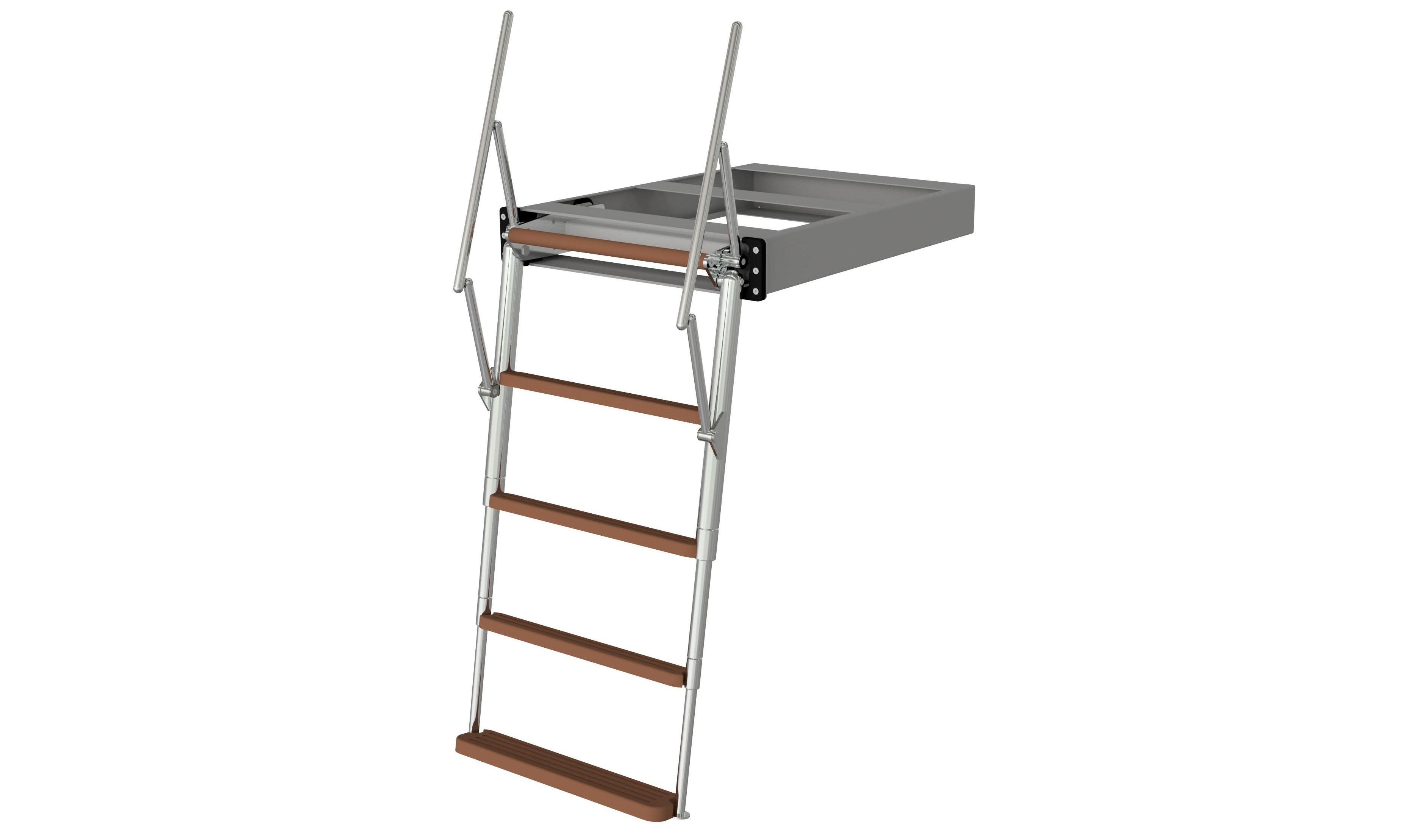 Swissway manual bathing ladder Carina Tele