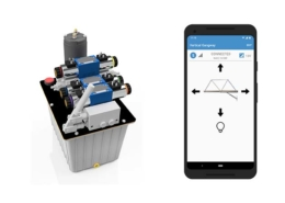 Hydraulic Power Unit with smartphone app