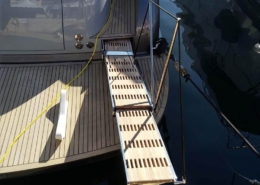 Swissway Marco Polo 2300 on the Steeler NG52 S - 15m yacht Zeus Blue Print